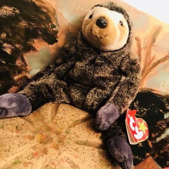 35dd9e48664 New Ty Beanie SlowPoke The Sloth with mint tags. M 5bfcb5b6e944ba9b282e2d04